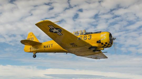Adventure Flight in a WW2 Warbird Plane