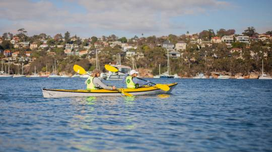 Sydney Harbour Kayak Eco Tour with Morning Tea