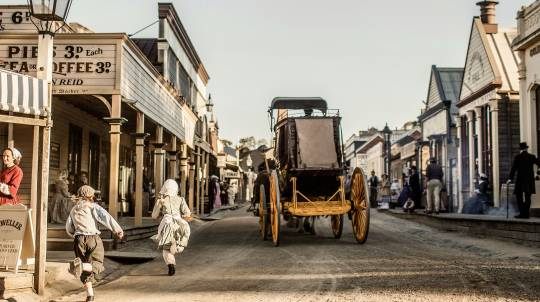 Sovereign Hill Open-Air Museum Entry