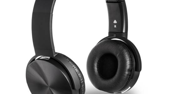 Friendie Air Luxe On-Ear Wireless Headphones - Black