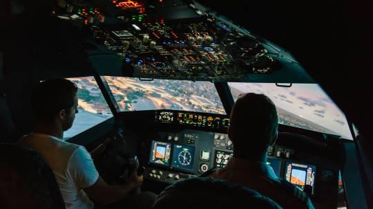 Jet Flight Simulator Experience - 60 Minutes