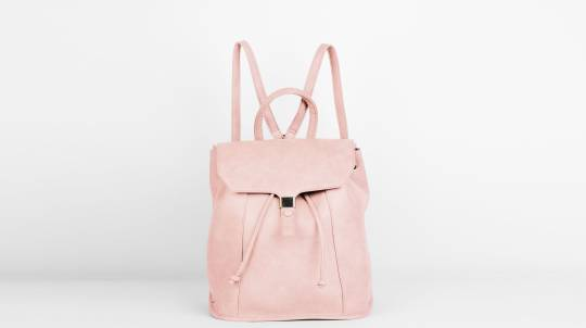 Foxy Backpack in Vegan Leather - Pink