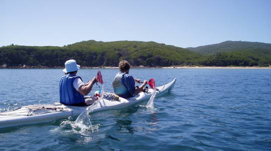 Guided Sea Kayak Tour to Wilsons Promontory - 3 Days