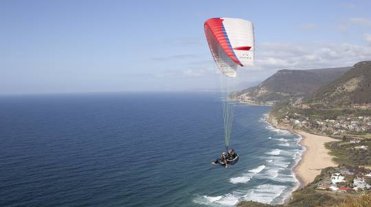 Tandem Paragliding Coastal Flight