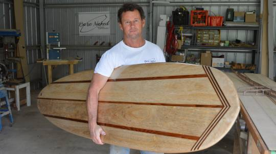 3 Day Wooden Surfboard Workshop with Custom Short Board