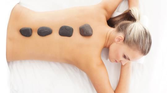 Facial, Hot Stone Back Massage and Pedicure - North Lakes
