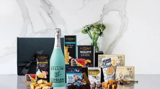 Bellini Cipriani and Chocolate Valentines Gift Box