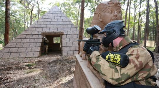 Paintball Experience - 500 Paintballs - Newcastle, NSW
