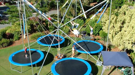 Defy Gravity Bungee Trampoline and Flying Trapeze Workshop