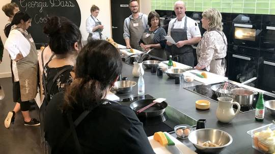 Cooking Class at Georgie Bass Café and Cookery