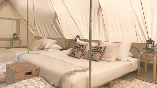 Luxury Glamping at Glenworth Valley - 2 Nights - Family