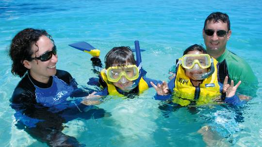 Michaelmas Cay Day Cruise, Snorkel and Lunch - Child