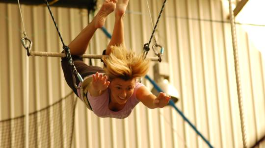 Indoor Flying Trapeze Class with Photo CD - 2 Hour - For 4