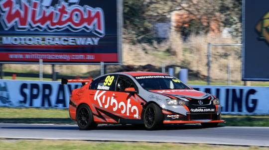 V8 Supercar Drive and Front Seat Ride Combo- 9 Laps - Winton