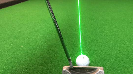 Indoor Golf Putting Assessment and Analysis Session