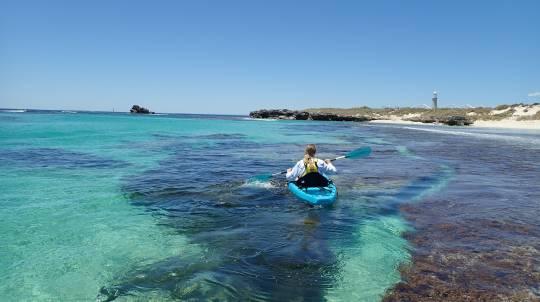 Rottnest Island Glass Bottom Kayak Tour