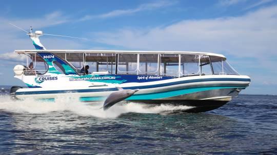 Mandurah Island Dolphin Adventure Cruise