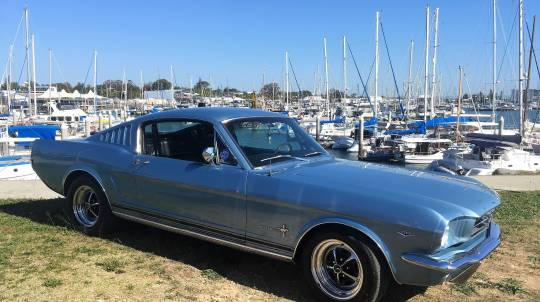 Classic 1965 Ford Mustang Full Day Car Hire
