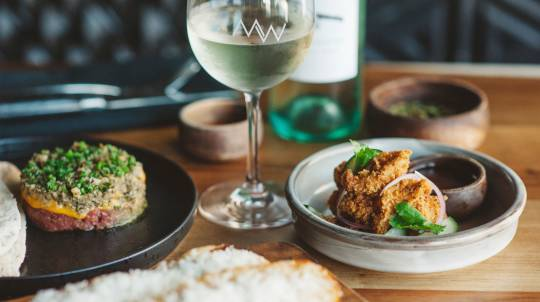 2 Course Steakhouse Dinner with Wine - For 2 - Barangaroo