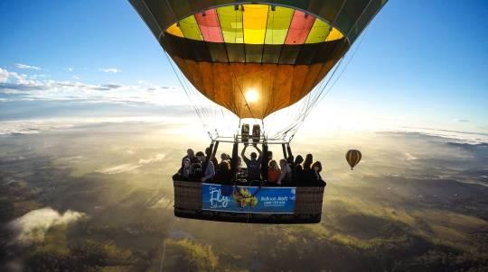 Hunter Valley Bed, Breakfast and Ballooning Getaway- Midweek