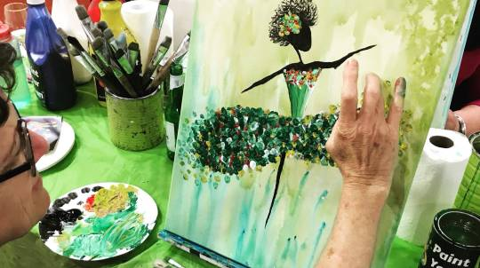 Paint, Sip and Create Class - NSW
