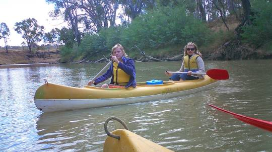 Canoe The Goulburn River - Half Day - For 2