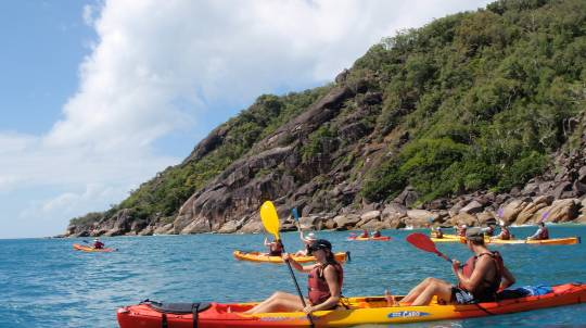 Sea Kayak Tour on Fitzroy Island - Half Day