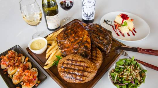 3 Course Shared Meat Magnificence - For 2 - Sydney
