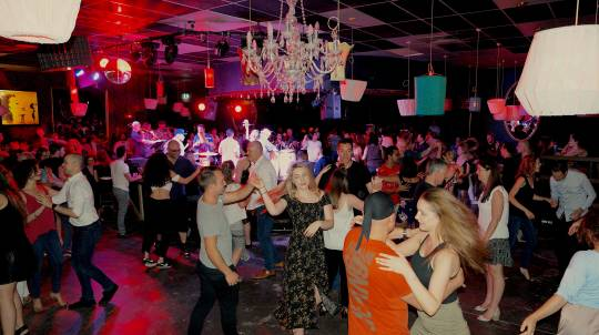 Salsa Lesson with Live Band and Sangria