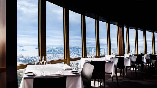 Sydney Tower Revolving Restaurant Lunch Degustation - For 2