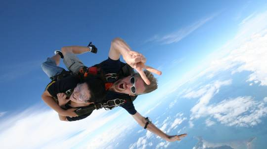 Skydive over the Beach - 15,000ft - Brisbane - Midweek