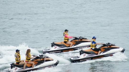 Mandurah Island Open Ocean Jet Ski Tour - 90 Minutes
