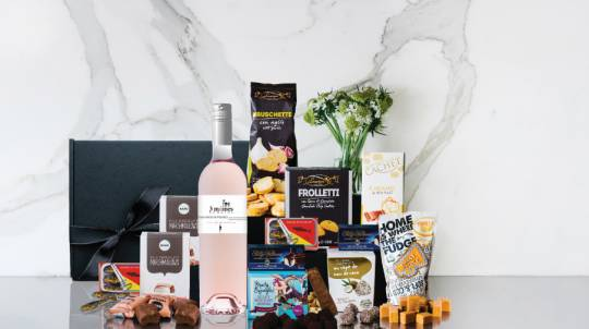 Provence Rosé and Chocolates Valentines Gift Box