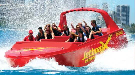 High Speed Jet Boat Ride with 360 Spins – 55 Minutes
