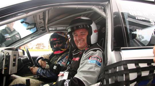 V8 Race Car Front Seat Hot Laps Ride - 3 Laps - Adelaide