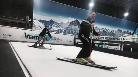 Private Indoor Ski or Snowboarding lesson - 60 Minutes