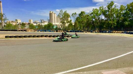 Junior Outdoor Karting - 3 x 10 Minute Intervals