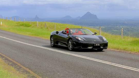Ferrari Driving and Helicopter Flight Over Brisbane - For 2