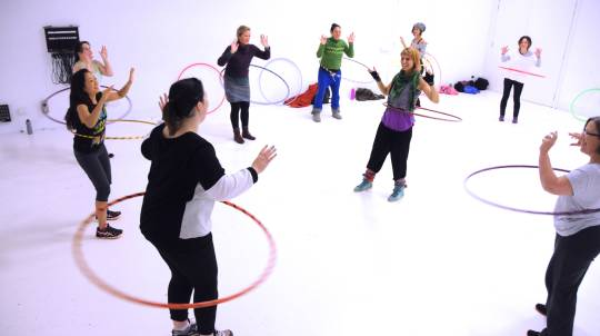 2 x Group Hula Hoop Classes - For 2