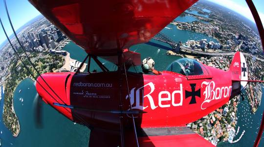 Pitts Special Sydney Harbour Scenic Flight - 50 Minutes