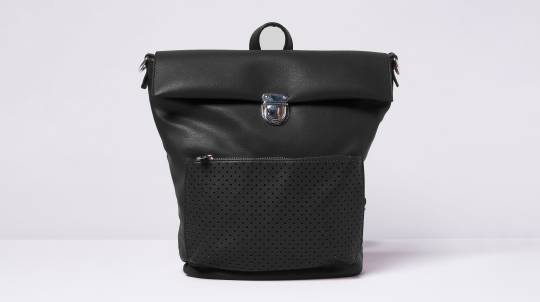 Convertible Backpack in Vegan Leather - Various Colours