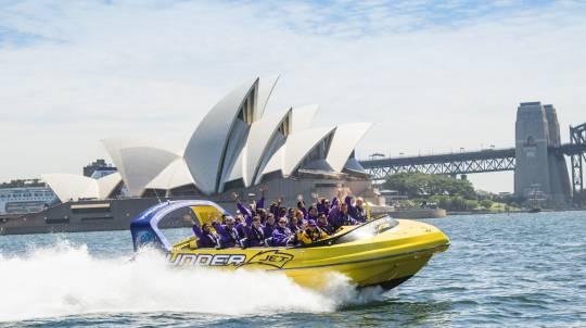 Jet Boat Ride on Sydney Harbour - 30 Minutes