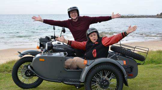 South Coast Beaches Sidecar Tour - 60 Minutes