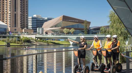 Adelaide Riverbank Segway Tour - 60 Minutes