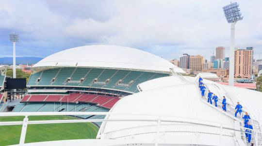 Adelaide Oval Roof Climb - Daytime