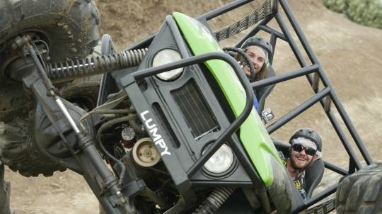4WD Adventure Drive and Hot Lap - 3 Courses - Friday