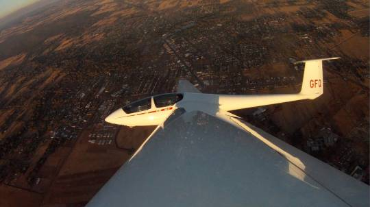 Gliding Deluxe Flight - 4000ft