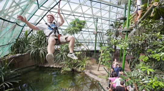 Jet Boat Ride, Ropes Course and Wildlife Park - Adult