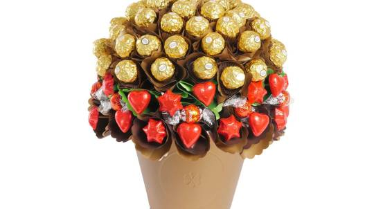 Luxury Chocolate Bouquet with 70 Chocolates