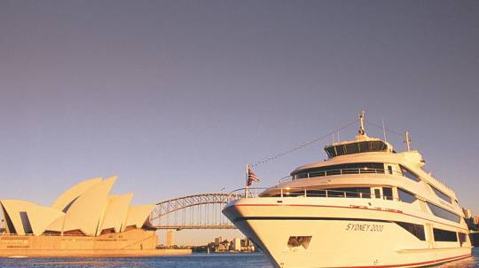 2 Course Dinner Cruise on Sydney Harbour - Child